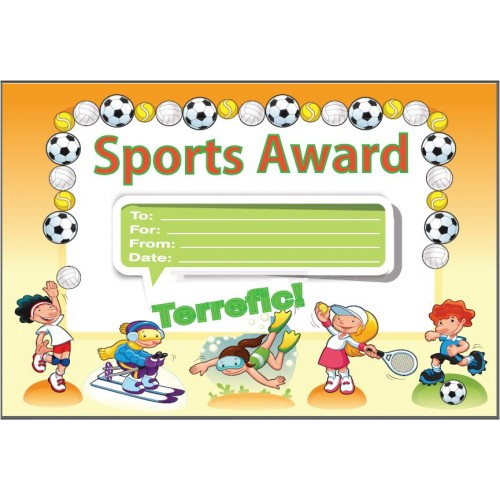 Sports Award Certificate awards certificates incentives GT – Sports Award Certificates